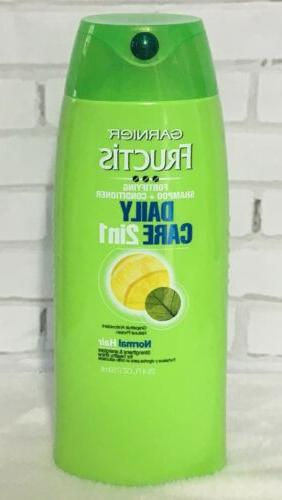 Garnier Fructis Daily Care 2-in-1 Shampoo and Conditioner, 2