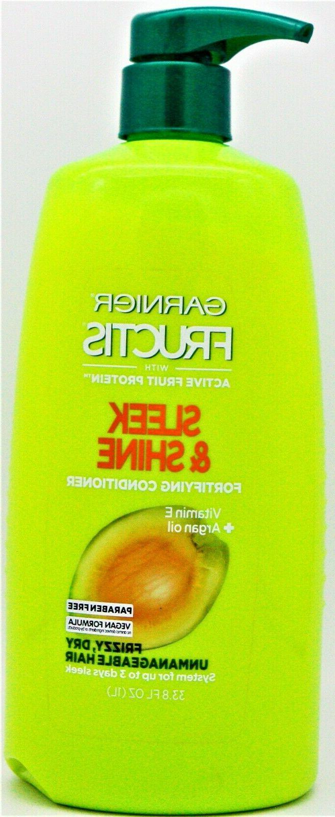 fructis sleek shine fortifying conditioner