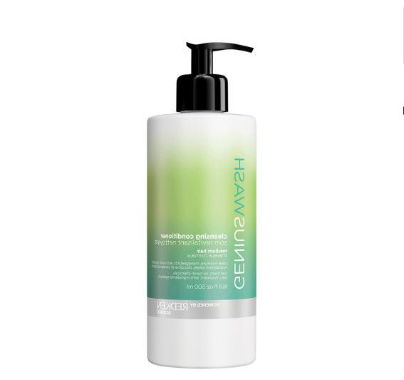 genius wash cleansing conditioner hair
