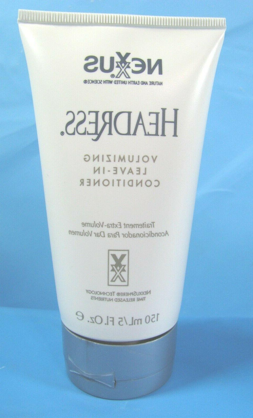 headress salon volumizing leave in hair conditioner