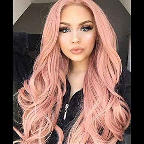 Cinhent Human 26 Inches Wig 2019 New Fashion Full Lace Wave Curly, Wash