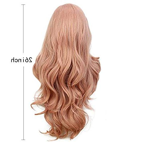 Inches New Full Lace Curly, Pink, Wash