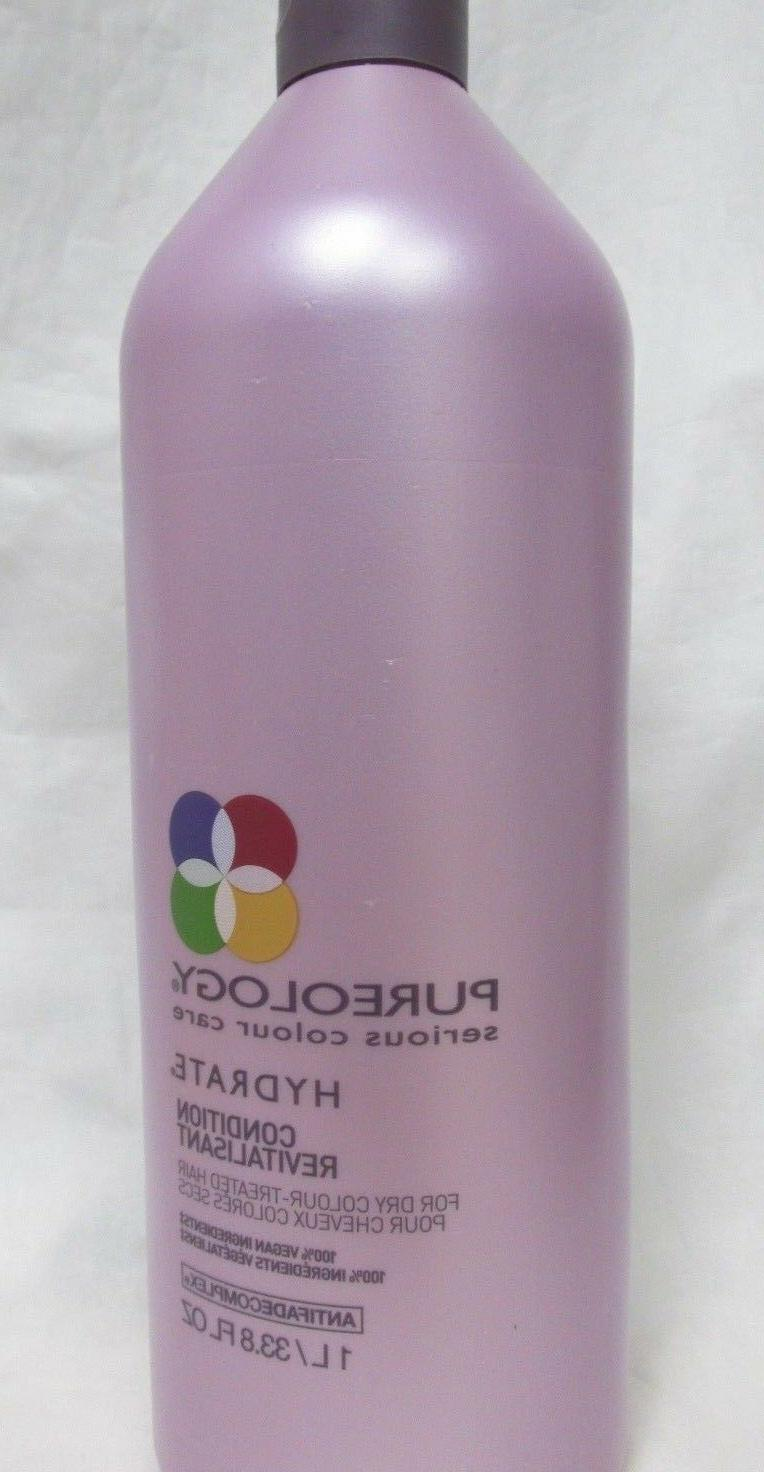 Pureology Hydrate Dry Hair Conditioner Serious Color Care -