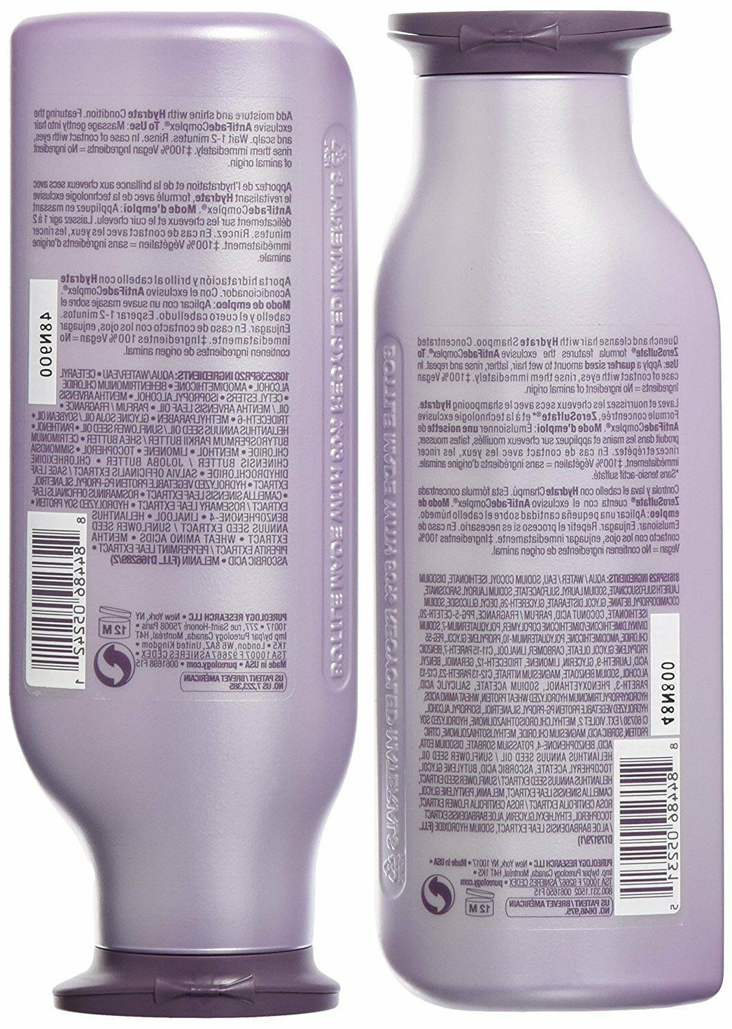 Pureology Hydrate Shampoo Conditioner Set Hair ml/ fl. oz.