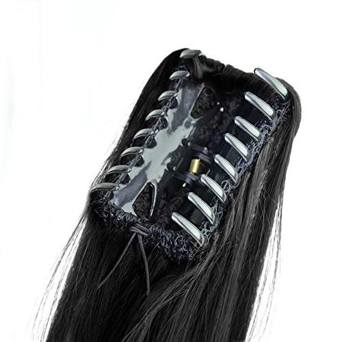 Beauty Synthetic Ponytail Clip on/in Accessories 120g