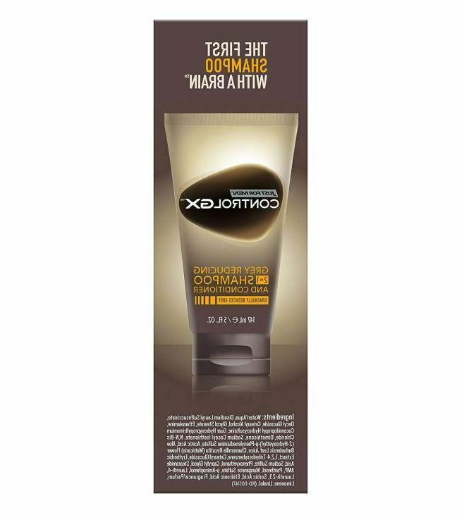Mens Conditioner Anti Grey Hair Just For GX