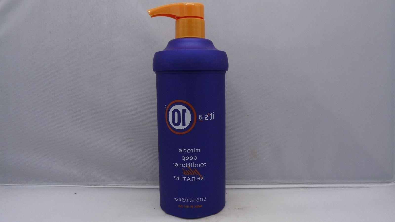 It's a 10 Miracle Deep Conditioner Plus Keratin 17.5 oz