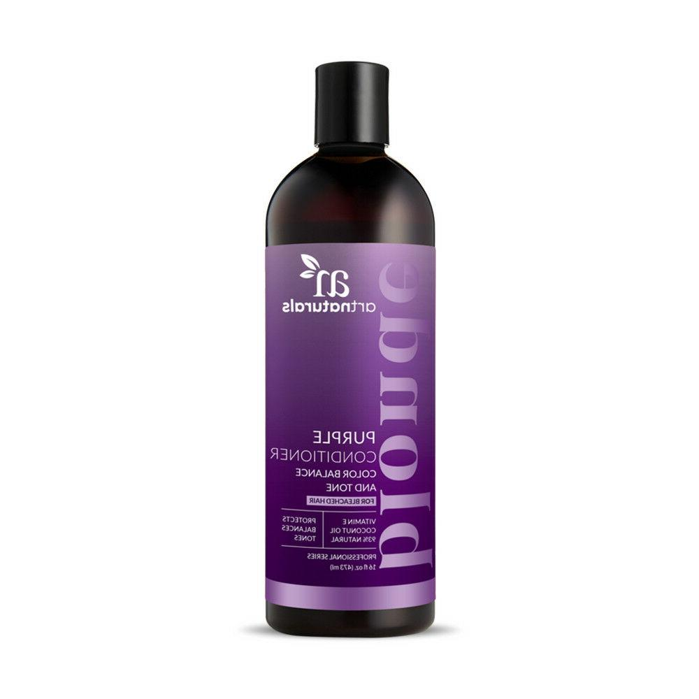 Purple Shampoo & Collection - for Blonde 16 oz