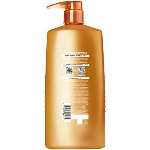 Oil for Dry Dull Hair, Conditioner with Flower Oils, Hydration, Shine, and Silkiness, 28 fl. oz.