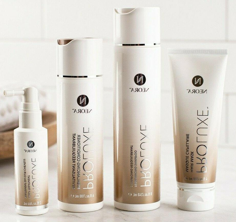 proluxe hair care system shampoo conditioner hair