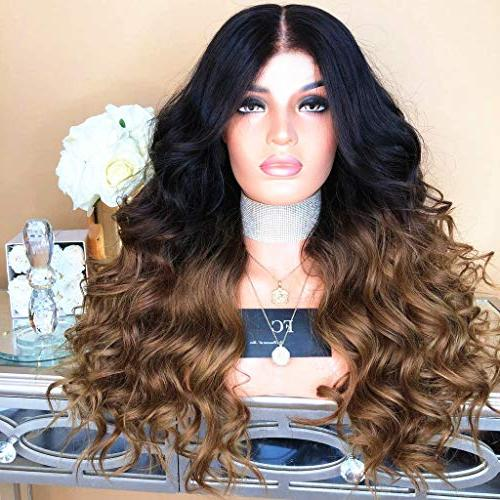 "Cinhent 26""/ Synthetic Hair Wig Water Wave Wigs"