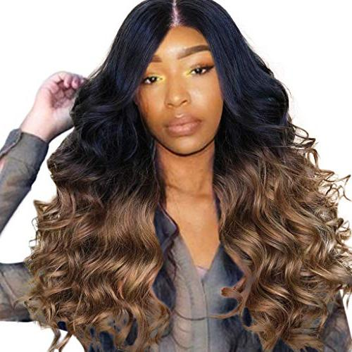 Cinhent Synthetic Long Wave Wigs
