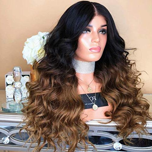 Cinhent Synthetic Long Hair Wig Synthetic Wave Luxury Wigs