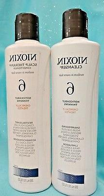 Nioxin System 6 Cleanser Shampoo, Peppermint Oil, 10.1 oz.