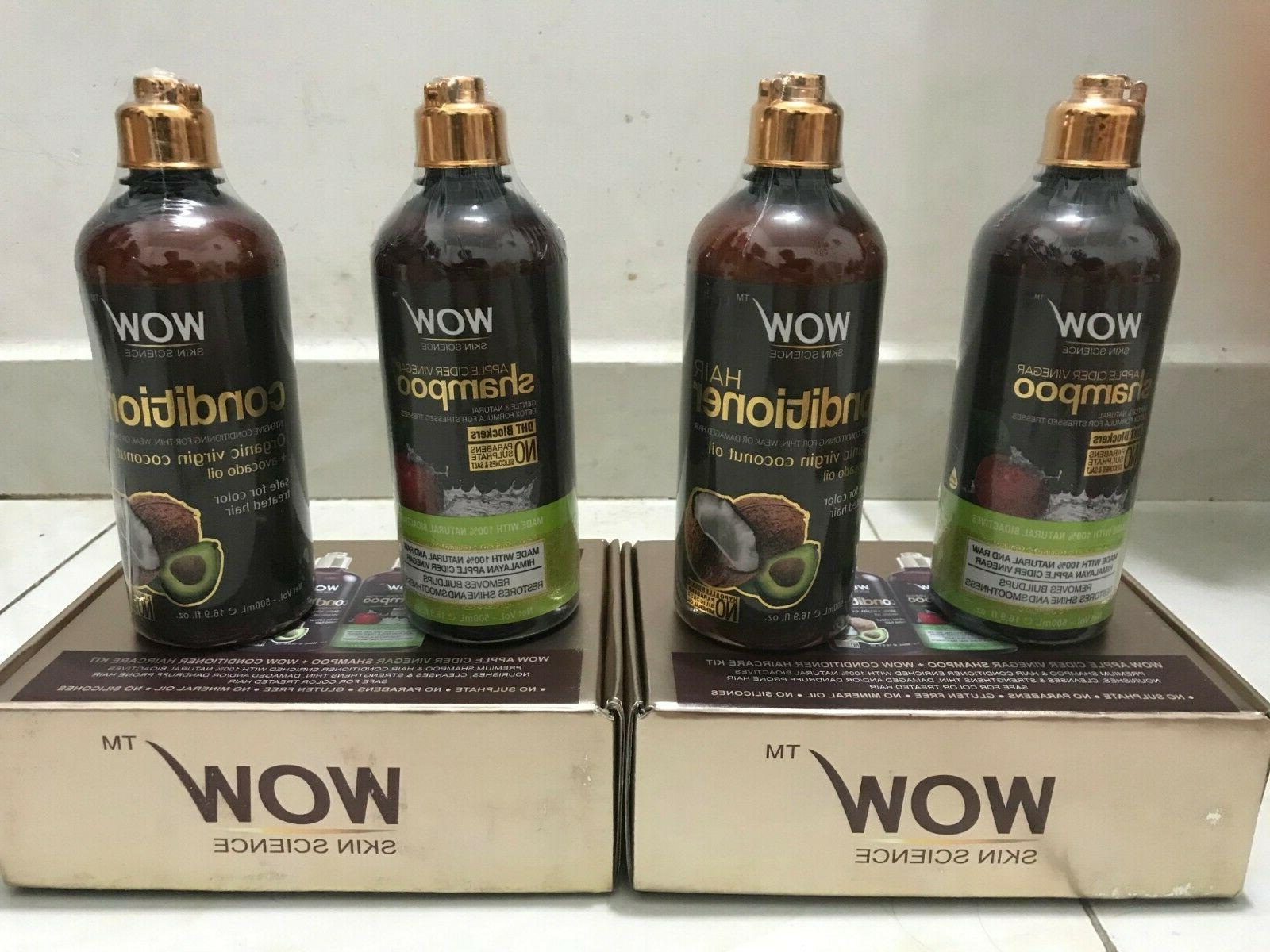 WOW Shampoo + Coco Conditioner - 2 Pack
