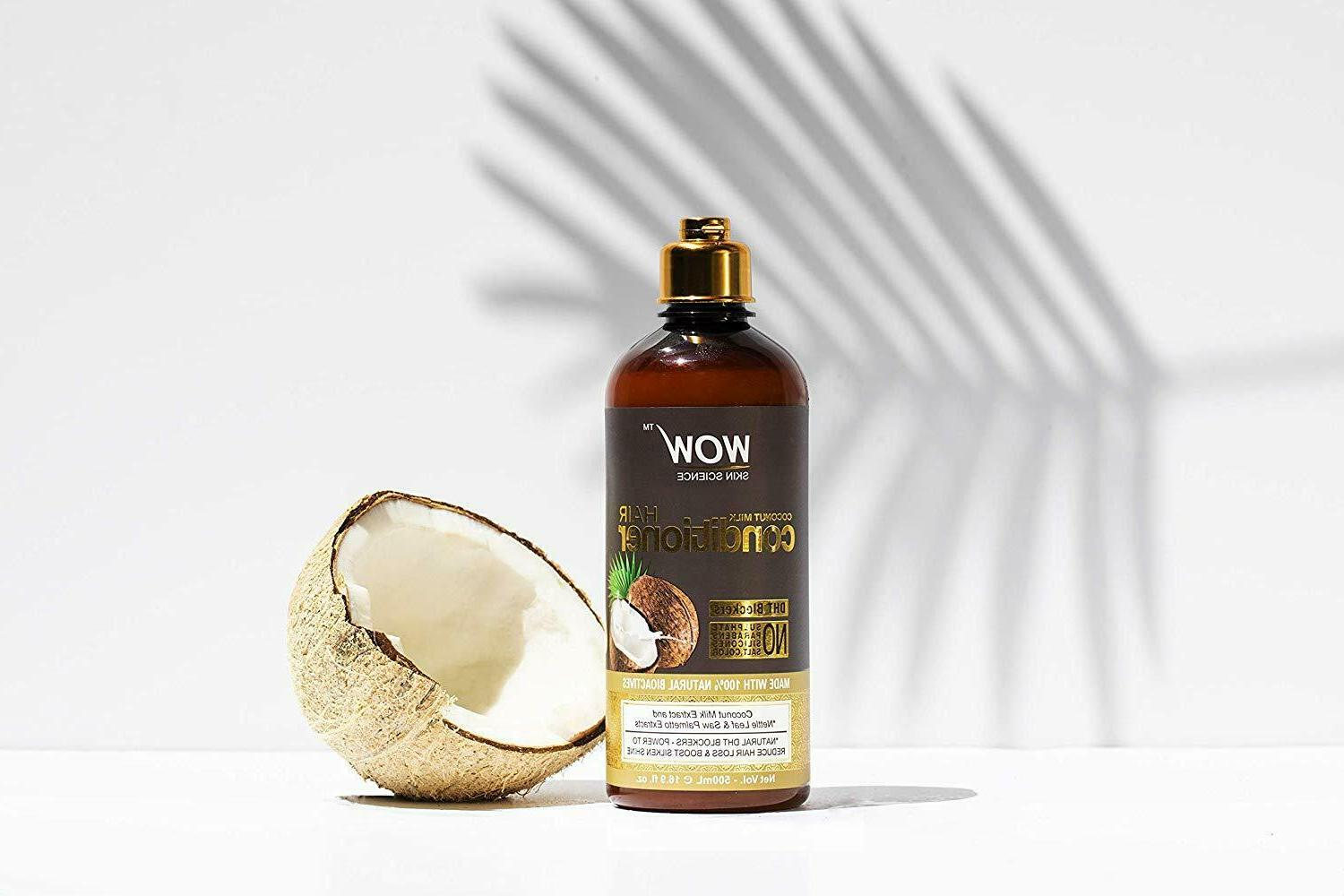 WOW Coconut Milk Conditioner Products Women