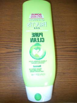 LOT OF 2 GARNIER FRUCTIS PURE CLEAN FORTIFYING CONDITIONER N