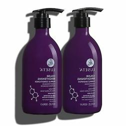 Luseta Color Brightening Purple Shampoo & Conditioner Set fo