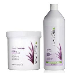 Matrix Biolage HydraSource Shampoo 33.8oz & Conditioner For