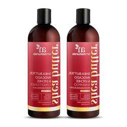 Natural Shea Butter Avocado Shampoo & Conditioner Collection