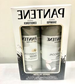 New Pantene Pro Blends Charcoal Shampoo and Conditioner 17.9