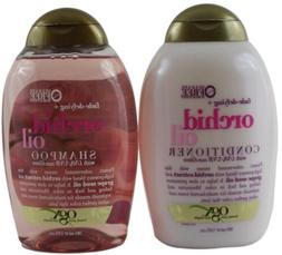 OGX Orchid Oil Shampoo Conditioner Fade-Defying Lot 2 13 FL