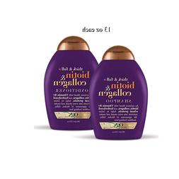 Organix Thick and Full Biotin and Collagen, DUO Set Shampoo