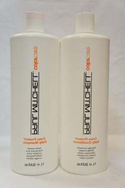 Paul Mitchell Color Protect Daily Shampoo and Conditioner Li