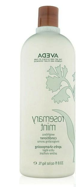 AVEDA ROSEMARY MINT HAIR CONDITIONER 1 LITER 33.8 OZ NEW 100