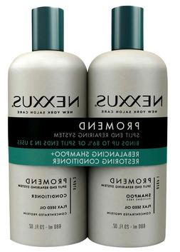 Nexxus Salon Hair Care Pro Mend Daily Shampoo and Daily Cond