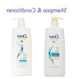 Shampoo & Conditioner Dove Hair Therapy Daily Moisture 40 oz