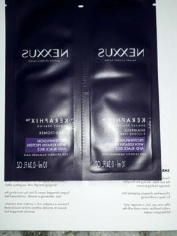 Nexxus Shampoo And Conditioner Keraphix Proteinfusion Sample