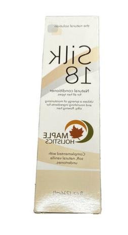 Silk 18 Natural Conditioner For All Hair Types Maple Holisti
