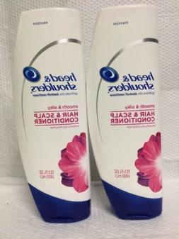 Head and Shoulders Smooth and Silky Conditioner 13.5 Fl Oz
