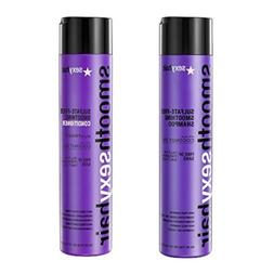 Smooth Sexy Hair Sulfate-Free Smoothing Shampoo and Conditio