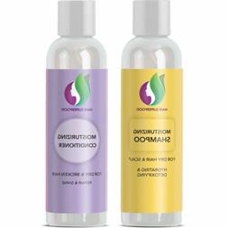 Sulfate Free Shampoo and Conditioner for Dry and Damaged Hai