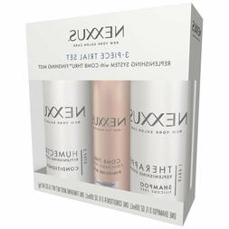 Nexxus 3 Piece Trial Set Replenishing System with Finishing