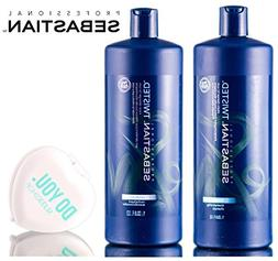 Sebastian Pro TWISTED Shampoo & Conditioner, Elastic Cleanse