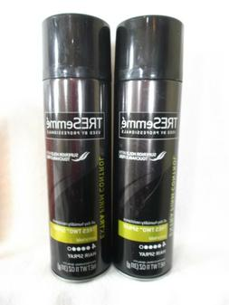 TWO TRESemme Hair Spray 11 OZ EA Extra Firm Control Styling