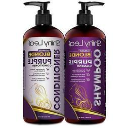 Ultimate Blonde Purple Shampoo and Conditioner For Blonde /