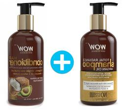 WOW Argan Oil Total Radiance Shampoo + WOW Hair Conditioner