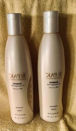 x2 Joico K-Pak Reconstruct Shampoo For Damaged Hair 10.1 Oz
